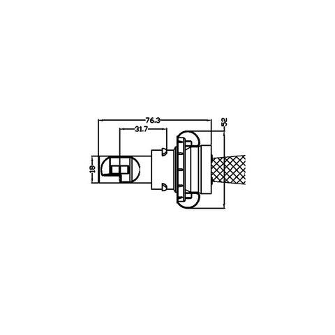 Набор светодиодного головного света UP-5HL-H13W-CR-3000Lm (H13, 3000 лм, холодный белый) Превью 4