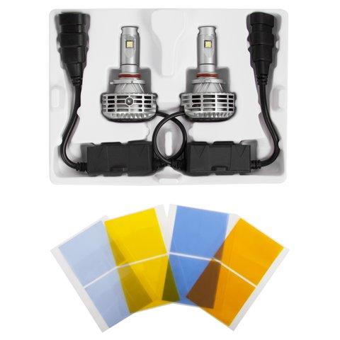 Набор светодиодного головного света UP-6HL (9005 (HB3), 3000 лм, совместим с CAN-шиной) Превью 1