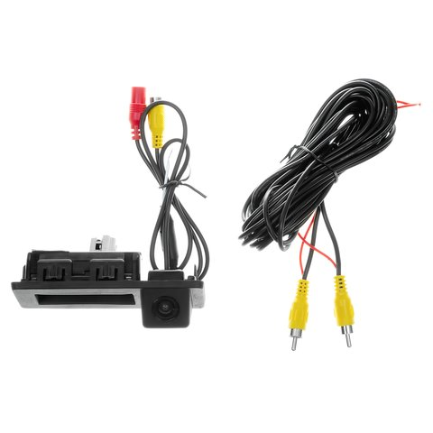 Tailgate Rear View Camera for Audi A4, Q7, Volkswagen Touran Preview 3