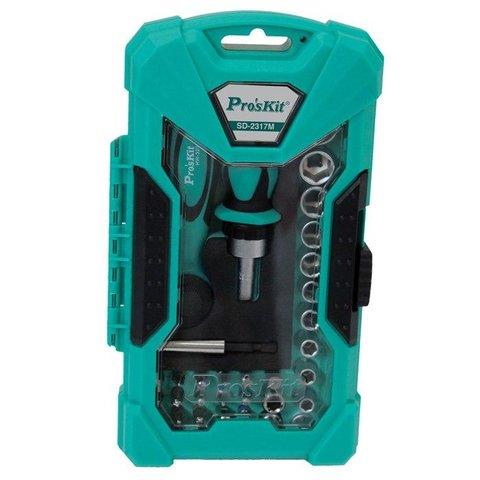 Набір біт з тріскачкою та ключем ProsKit SD-2317M Прев'ю 3