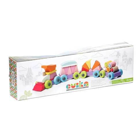Construction Set CUBIKA Train LP-2