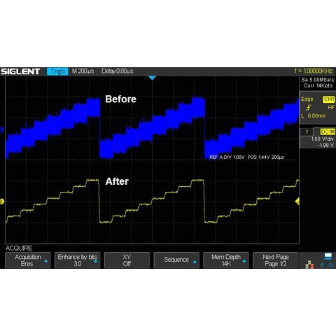 Super Phosphor Oscilloscope SIGLENT SDS2304X Preview 13